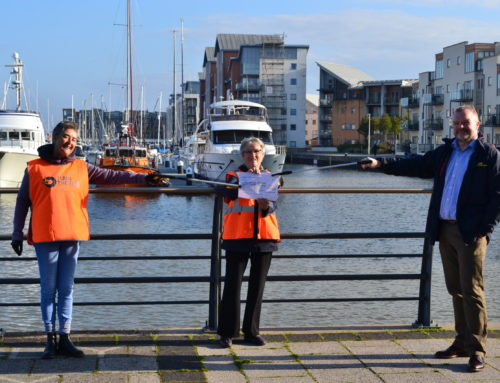 PRESS RELEASE: Local Business Helps Turn The Tide Portishead Keep Coastline Clean