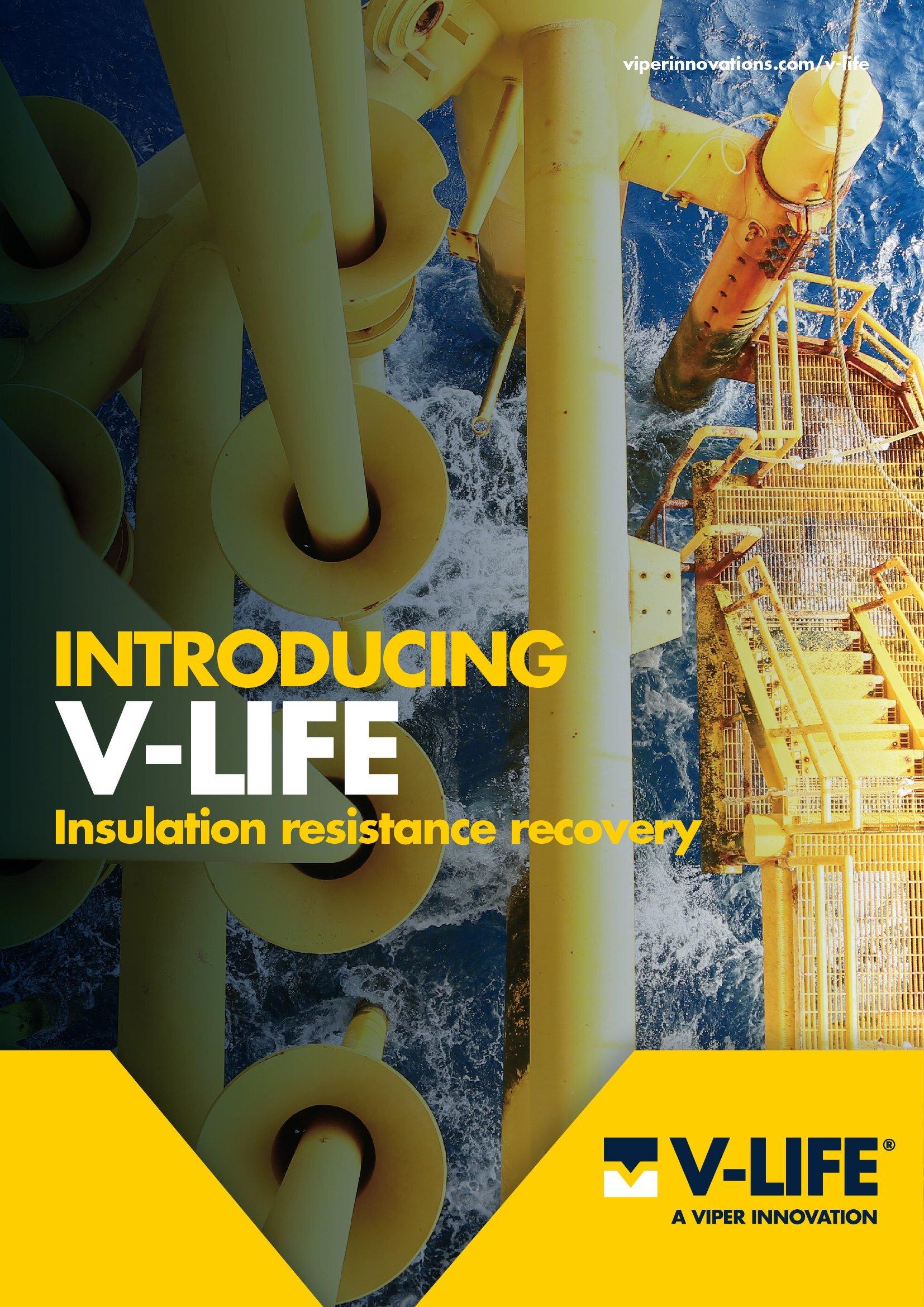V-LIFE Brochure Cover